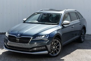 2020 Skoda Superb NP MY20.5 200TSI DSG Scout Grey 7 Speed Sports Automatic Dual Clutch Wagon.