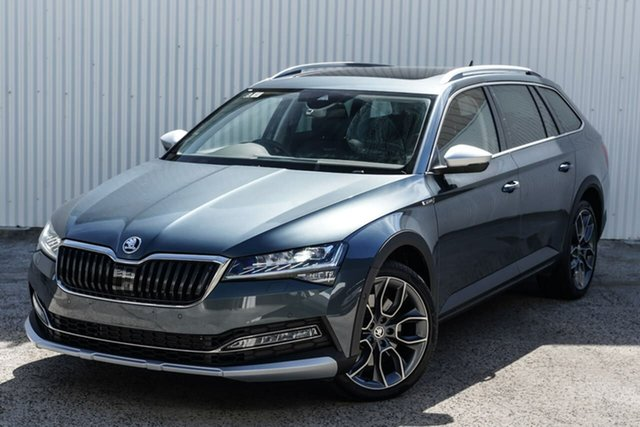 Used Skoda Superb NP MY20.5 200TSI DSG Scout Seaford, 2020 Skoda Superb NP MY20.5 200TSI DSG Scout Grey 7 Speed Sports Automatic Dual Clutch Wagon