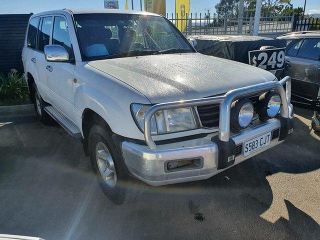 Used Toyota Landcruiser FZJ105R GXL Morphett Vale, 1998 Toyota Landcruiser FZJ105R GXL White 4 Speed Automatic Wagon