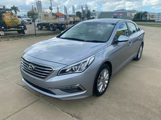 2016 Hyundai Sonata LF3 MY17 Active Grey/301216 6 Speed Sports Automatic Sedan