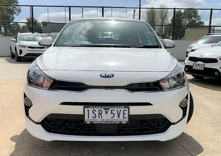 2020 Kia Rio YB MY21 Sport Clear White 6 Speed Automatic Hatchback.