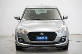 2019 Suzuki Swift AZ GL Navigator Silver 1 Speed Constant Variable Hatchback.