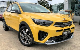 2021 Kia Stonic YB MY21 GT-Line DCT FWD Mighty Yellow 7 Speed Sports Automatic Dual Clutch Wagon.