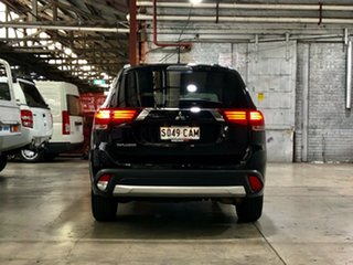2015 Mitsubishi Outlander ZJ MY14.5 LS 2WD Black 6 Speed Constant Variable Wagon