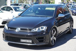 2015 Volkswagen Golf VII MY15 R 4MOTION Black 6 Speed Manual Hatchback