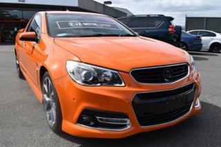 2014 Holden Ute VF MY15 SS V Ute Orange 6 Speed Manual Utility.