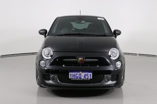 2016 Abarth 595 MY16 Competizione Black 5 Speed Automated Manual Hatchback.