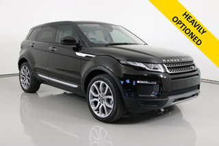 2016 Land Rover Range Rover Evoque LV MY16.5 TD4 180 HSE Black 9 Speed Automatic Wagon.
