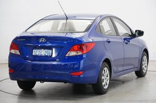 2013 Hyundai Accent RB Active Blue 5 Speed Manual Sedan