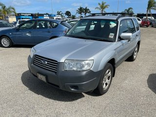 2005 Subaru Forester 79V MY05 X AWD Silver 4 Speed Automatic Wagon