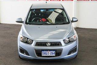 2012 Holden Barina TM Blue 6 Speed Automatic Hatchback.