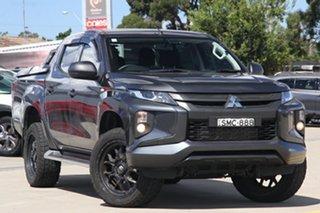 2019 Mitsubishi Triton MR MY19 GLX Double Cab Grey 6 Speed Sports Automatic Utility.