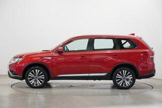 2018 Mitsubishi Outlander ZL MY19 ES AWD Red 6 Speed Constant Variable Wagon.