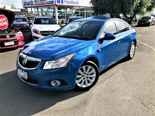 2013 Holden Cruze JH Series II MY13 CDX Blue 6 Speed Sports Automatic Sedan.