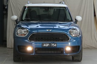 2017 Mini Countryman F60 MY18 Cooper Blue 6 Speed Automatic Wagon