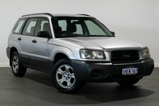 2004 Subaru Forester 79V MY04 X AWD Silver 5 Speed Manual Wagon.