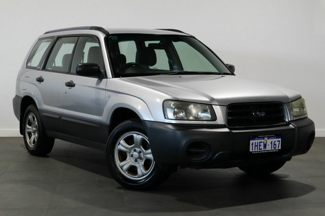 Used Subaru Forester 79V MY04 X AWD Bayswater, 2004 Subaru Forester 79V MY04 X AWD Silver 5 Speed Manual Wagon