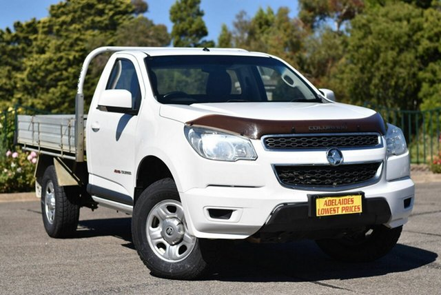 Used Holden Colorado RG MY15 LS Enfield, 2015 Holden Colorado RG MY15 LS White 6 Speed Sports Automatic Cab Chassis