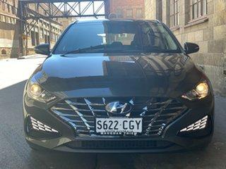 2020 Hyundai i30 PD.V4 MY21 Amazon Gray 6 Speed Automatic Hatchback