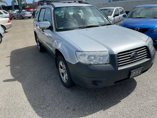 2005 Subaru Forester 79V MY05 X AWD Silver 4 Speed Automatic Wagon.