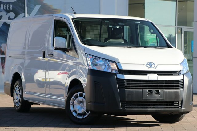 Pre-Owned Toyota HiAce GDH300R LWB Warwick Farm, 2020 Toyota HiAce GDH300R LWB White 6 Speed Sports Automatic Van