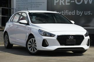 2019 Hyundai i30 PD MY19 Go White 6 Speed Automatic Hatchback.