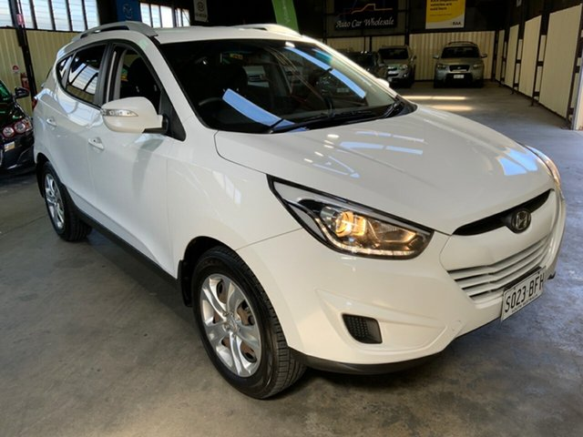 Used Hyundai ix35 LM Series II Active (FWD) Hampstead Gardens, 2015 Hyundai ix35 LM Series II Active (FWD) White 6 Speed Automatic Wagon