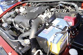 2013 Mitsubishi Triton MN MY14 GLX Double Cab Red 4 Speed Sports Automatic Utility