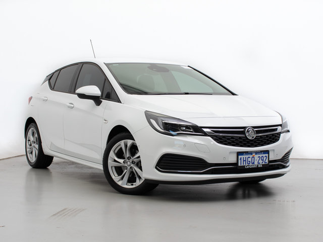 Used Holden Astra BK MY20 RS, 2020 Holden Astra BK MY20 RS White 6 Speed Automatic Hatchback