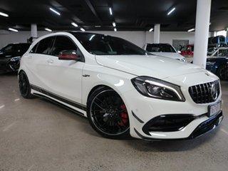 2016 Mercedes-Benz A-Class W176 807MY A45 AMG SPEEDSHIFT DCT 4MATIC White 7 Speed.