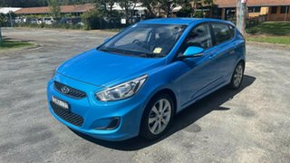 Used MY18 RB6 Accent Hatch Sport 1.6L Petrol Automatic.