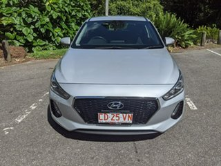 2018 Hyundai i30 PD2 MY19 Active Silver 6 Speed Sports Automatic Hatchback.