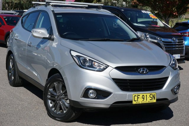 Used Hyundai ix35 LM3 MY15 SE Phillip, 2015 Hyundai ix35 LM3 MY15 SE Silver 6 Speed Sports Automatic Wagon