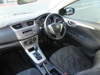 2013 Nissan Pulsar B17 ST-L Silver Continuous Variable Sedan.