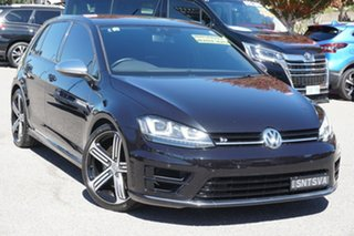 2015 Volkswagen Golf VII MY15 R 4MOTION Black 6 Speed Manual Hatchback.
