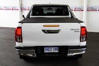 2015 Toyota Hilux GUN126R SR5 (4x4) Glacier White 6 Speed Automatic Dual Cab Utility