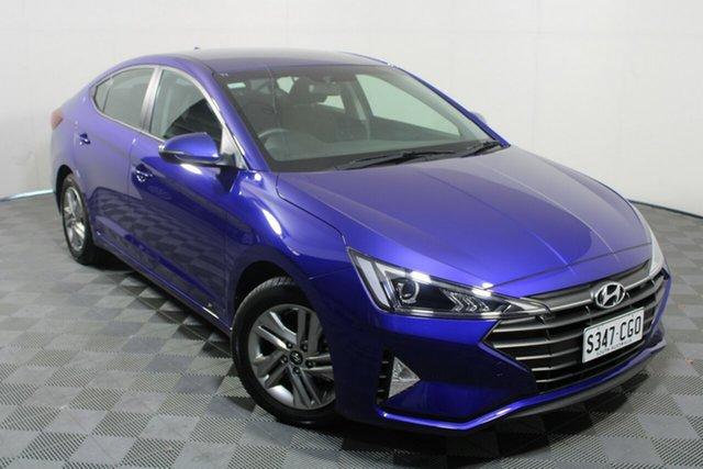 Used Hyundai Elantra AD.2 MY20 Active Wayville, 2020 Hyundai Elantra AD.2 MY20 Active Blue 6 Speed Sports Automatic Sedan