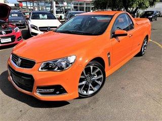 2013 Holden Ute VF MY14 SS V Ute Orange 6 Speed Sports Automatic Utility.