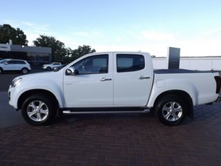 2017 Isuzu D-MAX MY17 LS-U Crew Cab 4x2 High Ride White 6 Speed Sports Automatic Utility