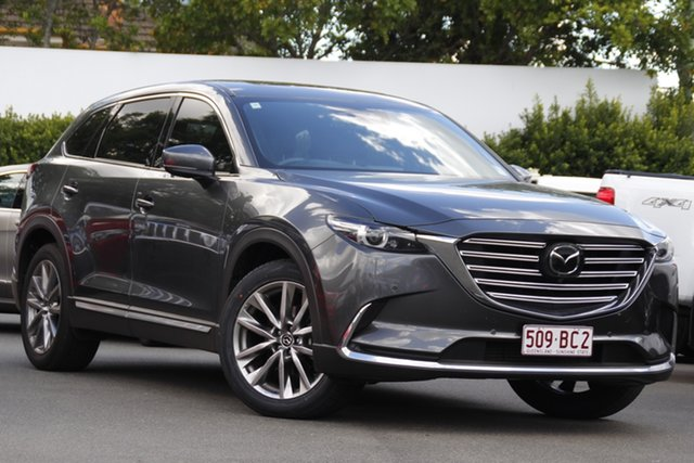 Used Mazda CX-9 TC Azami SKYACTIV-Drive Mount Gravatt, 2019 Mazda CX-9 TC Azami SKYACTIV-Drive Grey 6 Speed Sports Automatic Wagon