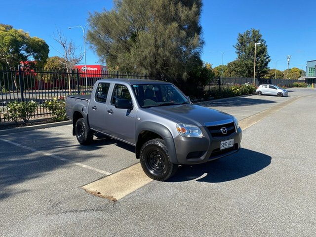 Used Mazda BT-50 UNY0E4 DX 4x2 Mile End, 2009 Mazda BT-50 UNY0E4 DX 4x2 Grey 5 Speed Manual Utility