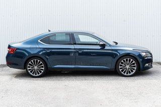 2015 Skoda Superb NP MY16 140TDI Sedan DSG Blue 6 Speed Sports Automatic Dual Clutch Liftback