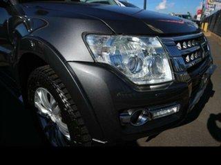 2014 Mitsubishi Pajero NW MY14 Exceed LWB (4x4) Grey 5 Speed Auto Sports Mode Wagon