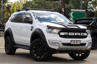 2018 Ford Everest UA II 2019.00MY Trend White 6 Speed Sports Automatic SUV.