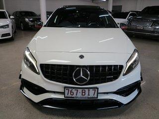 2016 Mercedes-Benz A-Class W176 807MY A45 AMG SPEEDSHIFT DCT 4MATIC White 7 Speed