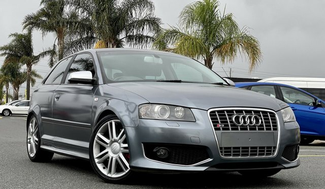 Used Audi S3 8P Quattro Cheltenham, 2008 Audi S3 8P Quattro Grey 6 Speed Manual Hatchback