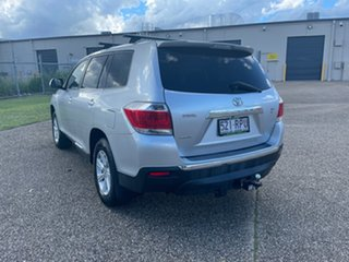 2011 Toyota Kluger GSU40R MY11 Upgrade KX-R (FWD) 7 Seat Silver 5 Speed Automatic Wagon