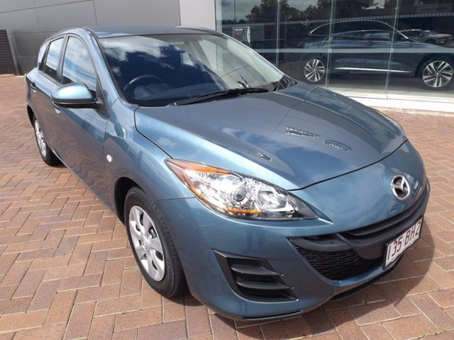 Used Mazda 3 BL10F1 MY10 Neo Toowoomba, 2011 Mazda 3 BL10F1 MY10 Neo Gunmetal Blue 6 Speed Manual Hatchback