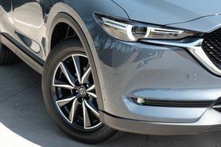 2021 Mazda CX-5 CX-5 K 6AUTO GT PETROL AWD Polymetal Grey Wagon.