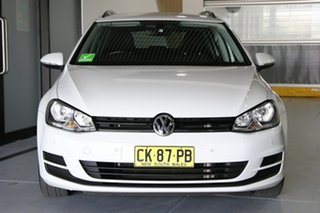 2016 Volkswagen Golf AU MY17 92 TSI Trendline White 7 Speed Auto Direct Shift Wagon
